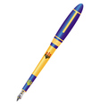 fountain pen vector image vector image