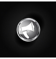 Loudspeaker icon Microphone symbol vector image vector image