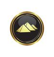 Pyramids icon vector image vector image