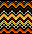 seamless ethnic zigzag chevron pattern vector image