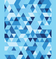 seamless triangular pattern vector image vector image
