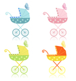 strollers vector image vector image