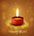 diwali background vector image vector image