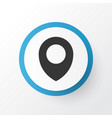 location icon symbol premium quality isolated map vector image vector image