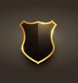 luxury badge label emblem design vector image vector image