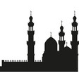 mosque icon design template vector image