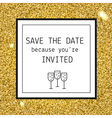 Party invitation template vector image vector image