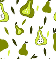 Pears pattern vector image vector image
