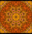seamless texture stained glass doodle pattern vector image vector image