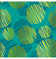 abstract jungle green seamless pattern vector image vector image