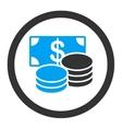 Cash icon vector image