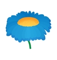 Chrysanthemum icon cartoon style vector image vector image