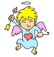 cupid valentine day vector image
