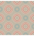 Floral seamless pattern in light colors vector image