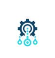integration optimization icon vector image vector image