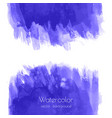navy blue indigo watercolor texture vector image vector image