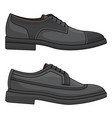 office leather shoes vector image