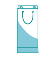 shopping bag market commerce pack image vector image