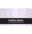 spiral pattern set purple magic seamless vector image
