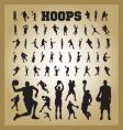 hoops vector image