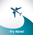 airplane 5 1 vector image