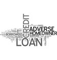 avail finance at easier terms through adverse vector image vector image