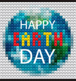earth day protect our planet eco ecology vector image