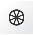 mandarin icon symbol premium quality isolated vector image vector image