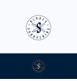 sharpening service logo vector image vector image