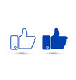like set sign icon line social network vector image