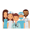 medicine professional people vector image vector image