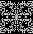 ornate textured baroque seamless pattern vector image vector image