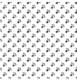 Seamless pattern of cat or dog footprint vector image vector image