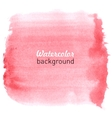 Watercolor hand drawn background vector image vector image