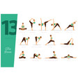 13 steps to splits vector image vector image