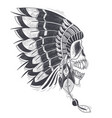 a template for a tattoo vector image vector image