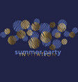 abstract geometric luxury elegant pattern vector image vector image