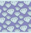 diamond background design vector image