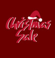 holiday sale christmas discount new year vector image