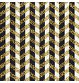 Seamless chevron pattern Glittering golden surface vector image vector image