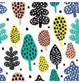 tree pattern vector image vector image