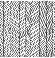 trendy simple seamless many zigzag pattern vector image vector image