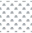 wagon pattern seamless vector image vector image