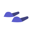 A slipper vector image vector image