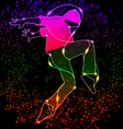 Dancing boy vector image