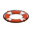 lifesaver float symbol vector image
