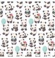 pandas vector image