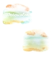 Watercolor art hand paint on white EPS 10 vector image vector image