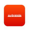 audio digital equalizer technology icon digital vector image vector image