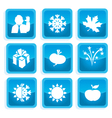 icons communication 2 vector image vector image